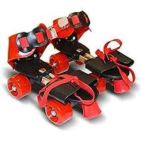 E-Global Shop Roller Skates for Kids Age Group 6-12 Years Adjustable Inline Skating Shoes (Multi Color)