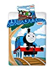 Thomas and Friends 024 cama infantil bebé Ropa de cama 100 x 135 cm + 40 x 60 cm