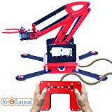 #5: Remote Controlled Robotic Arm Complete kit, Full Functioning Robotic arm Project kit