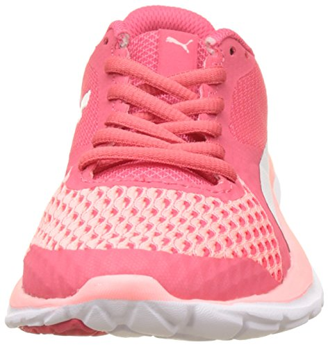Puma Flex T1 Reveal, Sneakers Basses Mixte Adulte Rose (Soft Fluo Peach-puma White-paradise Pink)
