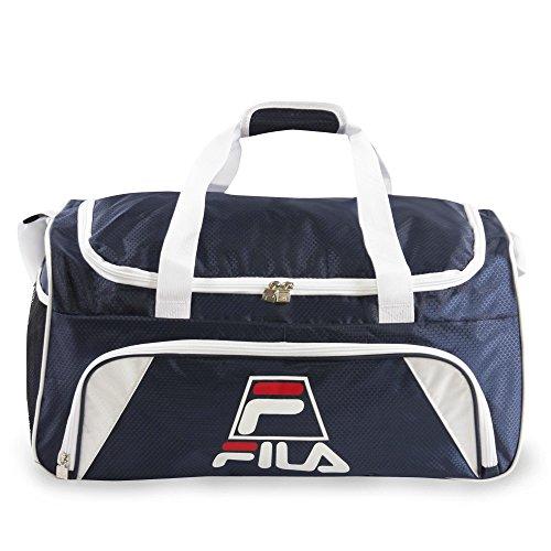 Fila Crew Medium Sports Duffel Gym Bag, Navy, One Size