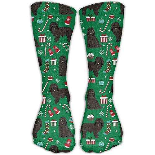 Unisex Casual Crew Socks Havanese Dogs Xmas Christmas Dog Havanese Fashion Novelty Socks