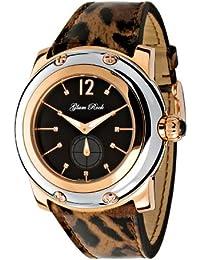 Glam Rock Damen GR10040 Miami Sammlung Diamant Akzent maculate Patent Leder Uhr