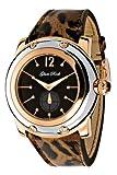 Glam Rock 0.96.2089 - Reloj analógico de cuarzo unisex, correa de cuero multicolor