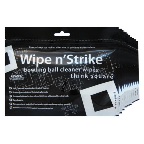 Bowlingball Reiniger Dr. Wipe Cleaner Wipes 6er Set