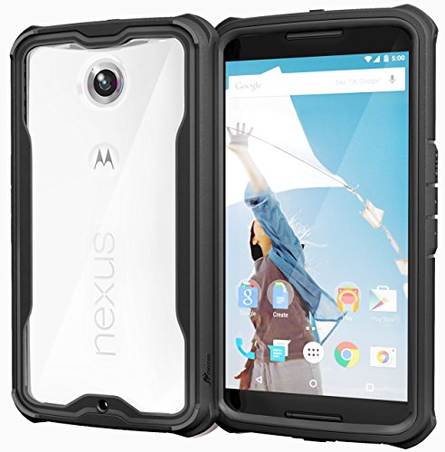 roocase-nexus-6-case-glacier-tough-hybrid-scratch-resistant-clear-pc-tpu-armor-full-body-protection-