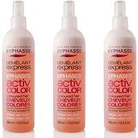 byphasse districante Express Activ color per capelli tinti–Set di 3