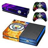 Manchester City Xbox One Skin Sticker Vinyl Aufkleber Schutzfolie zum Konsole & 2 Controller NEU