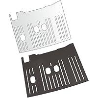 3 x Schutzfolie für DeLonghi Dinamica Plus 370.95 T & 370.95 S Abtropfblech - Tassenablage - Abstellblech