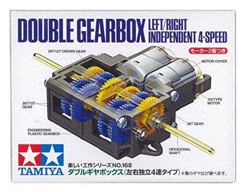 Tamiya 70168 Double Gearbox L/R Independ 4-Speed