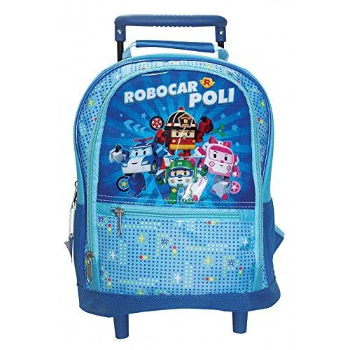 Robocarpoli - Petit sac à dos roulettes Robocarpoli pour la maternelle