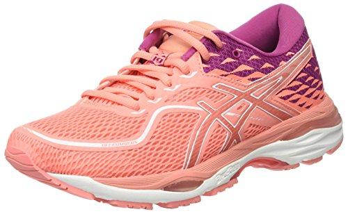Asics Gel-Cumulus 19, Zapatillas de Running para Mujer, Rosa (Begonia Pink/Begonia Pink/Baton Rouge 0606), 40.5 EU