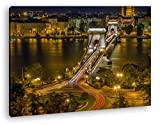 deyoli Kettenbrücke in Budapest Effekt: Zeichnung Format: