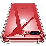 CANSHN iPhone 8 Plus Hülle, iPhone 7 Plus Hülle, Transparent Weiche Durchsichtig Dünn Handyhülle mit TPU Stoßfest Bumper Case für Apple iPhone 8 Plus und iPhone 7 Plus 5.5 Zoll - Klar