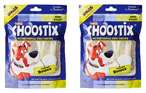 [Sponsored]Choostix Pressed Dog Bone (4 Pieces, 4-inch, Pack Of 2)