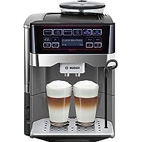Bosch tes60523rw–Espressomaschine (freistehend, vollautomatisch, Machine, Kaffeebohnen, gemahlener Kaffee, schwarz, grau, 50/60Hz)