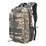 ZGHIAO Outdoor Travel Walking Bag Army Camouflage Oxford Tactical Backpack Camping New Equipment 3P Backpack