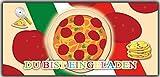 Einladungskarten zum Pizza essen Blanko - 12 Stück Einladung Pizzaparty italieneische Feier Italien essen Rezept