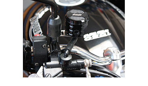 Gsg Bremsflüssigkeitsbehälter Vorne Triumph Speed Triple 1050 515nj 05 07 Schwarz Eloxiert Abe Auto
