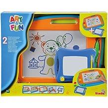 Simba - 106332216 - Ardoise Magiques - Art & Fun - 2 Pièces