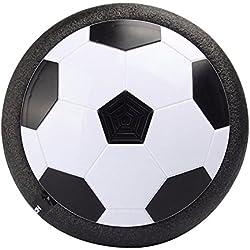Air Power - Balón de fútbol con parachoques de espuma y luces LED