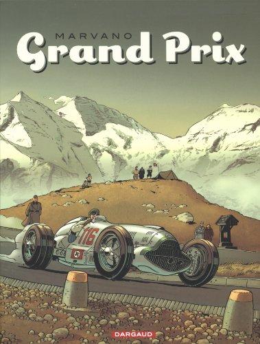 Grand Prix, Tomes 1 à 3 : Coffret en 3 volumes avec ex-libris : Tome 1, Renaissance ; Tome 2, Rosemeyer ! ; Tome 3, Adieu