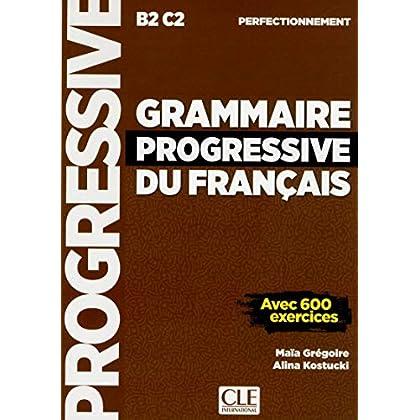 Grammaire progressive du français - Niveau perfectionnement - Livre - Nouvelle couverture