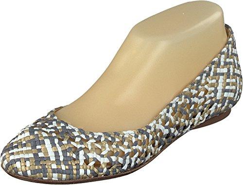 Allan K Daiba Fait à la main Osier-chaussures en cuir avec Semelle en cuir Femmes Émeraude