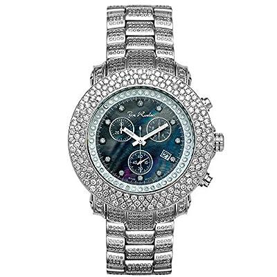 Joe Rodeo Diamond Men's Watch - JUNIOR silver 17.5 ctw