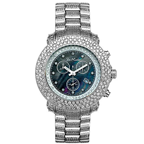 Joe Rodeo Diamant Homme Montre - JUNIOR argent 17.5 ctw