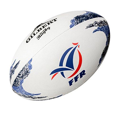 Beach-Balón de rugby Gilbert Francia, color - MULTICOLOR, tamaño Talla única