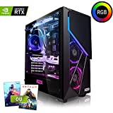 Megaport PC Gamer Premium Intel Core i7-8700 6X 4,60 GHz Turbo • GeForce RTX2070 8Go • 16Go DDR4 • 480Go SSD • 1To • Windows 10 • WiFi Unité Centrale Ordinateur de Bureau PC Gaming Ordinateur Gamer