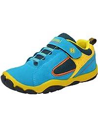 DADAWEN Boys' Casual Mesh Sneakers Outdoor Running Shoes