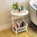 flower pot shelf European Simple Bedside Cabinets Simple Modern Living Room Bedroom Mini Lockers Creative Flower Racks plant stand ( Size : 47.5cm )