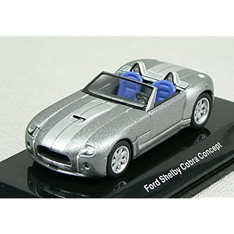AUTOart 1:64 (approx 3 inches) Die Cast Ford Shelby Cobra Concept 2004 Silver 20541 (japan import)