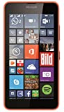 Microsoft Lumia 640 Dual-SIM Smartphone (5 Zoll (12,7 cm) Touch-Display, 8 GB Speicher, Windows 10) Neon Orange