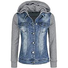best service 58175 59a5e Suchergebnis auf Amazon.de für: jeansjacke mit kapuze
