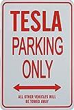TESLA Parkplatz nur Zeichen
