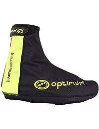 Optimum Nitebrite - Cubrezapatillas de ciclismo para hombre negro negro Talla:small