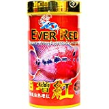 XO Ocean Free Ever Red For Flowerhorn Fish (100 G) Genuine Product.Dry Fish Food