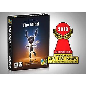 dV Giochi – DVG9346, The Mind – con el Solo Ayuto de la Mente – Edición Italiana, Azul