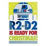 """Hallmark Star Wars Weihnachtskarte """"Command of the Galactic Empire""""–klein und viereckig, M"""