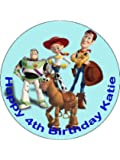 Personalised 7.5 Inch Toy Story Cake Topper