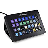 Elgato Stream Deck XL - Control avanzado de streaming, 32 teclas LCD totalmente personalizables, Windows 10 y macOS 10.13 o posterior