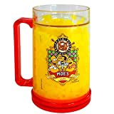 My Party Suppliers Simpsons Double Wall Gel Frosty Freezer Mugs / Beer ' Novelty Glass Gift / Gift for Adults