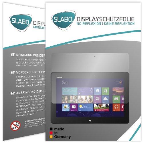 2 x Slabo Bildschirmschutzfolie Asus VivoTab RT TF600T/TF600TG/TF600TL Bildschirmschutz