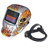 Energía solar soldadura casco auto oscurecimiento soldadura cascos soldador TIG MIG máscara de pulido
