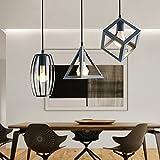 seeksung® personalità moderne lampadari sospensione luci creative bar ristorante soggiorno camera da letto illuminazione ferro battuto lampada diametro 19,69 in * 39,37 in