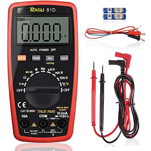 MM19 Sealey Digital Multimeter Voltmeter Ammeter 7 Function LCD Display