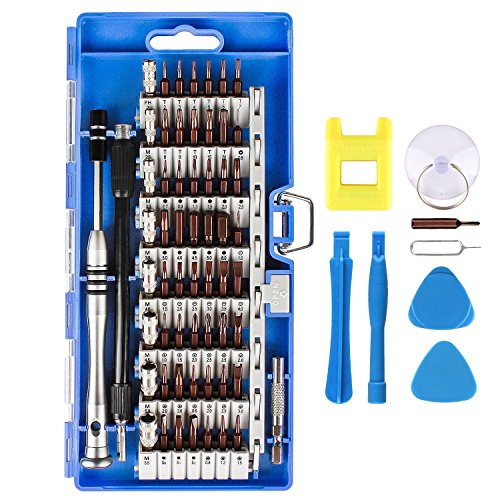 Präzisions Schraubendreher Set, Smraza 68 in 1 Schraubendreher Satz Magnetisch Reparatur Werkzeug Set für iphone, iPad, Tablets, Laptops, PC, Macbook Pro, PSP/PS4, Smartphone, Brillen, etc. -